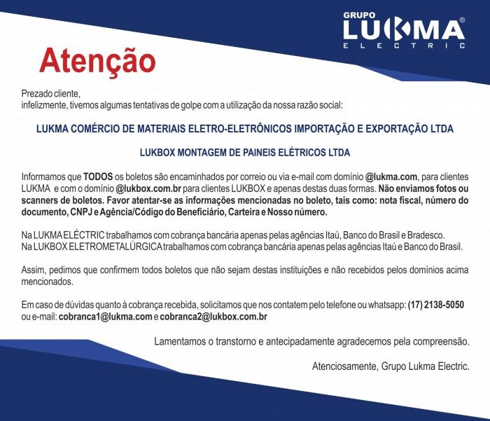 ATENÇÃO: FRAUDE BOLETO BANCÁRIO